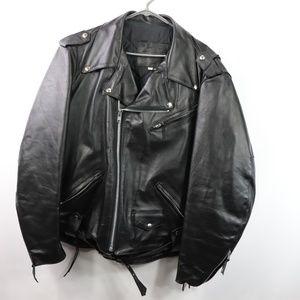 Harley Davidson Mens 2XL Leather Jacket Black